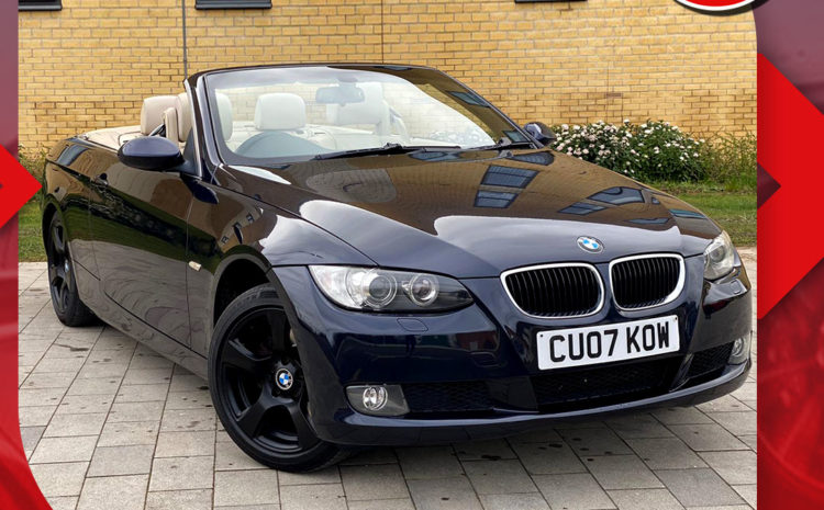 BMW 3 Series/2007 (07 reg)/2.0 320i SE 2dr/Price £4,295